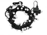 Eurolite LED Murmel-Lichterkette 80LEDs SC rot/bl