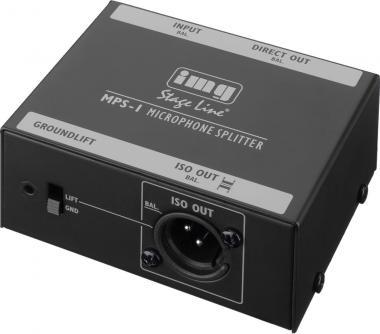 Mikrofon-Splitter img Stage Line MPS-1