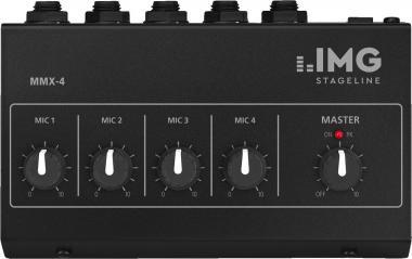 Mikrofon-Mischer IMG Stageline MMX-4
