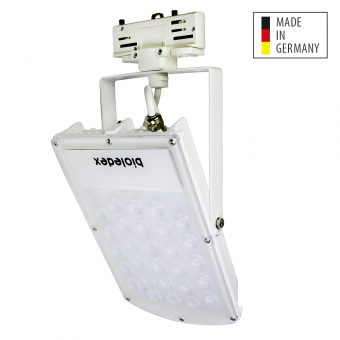 Bioledex 3-Phasen ASTIR LED Fluter 30W 70° 2520Lm 3000K Weiss