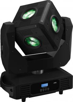 Moving Head Effect Unit IMG Stageline CUBE-630/RGBW