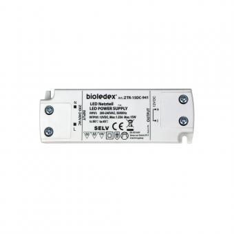 Bioledex 15W 12V DC LED Trafo Gleichspannungs-Netzgerät