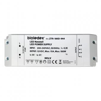 Bioledex 180W 12V DC LED Trafo Gleichspannungs-Netzgerät