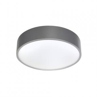 Bioledex PIXBO LED Decken-Aufbauleuchte 12W Ø15cm 3000K Silber Warmweiss