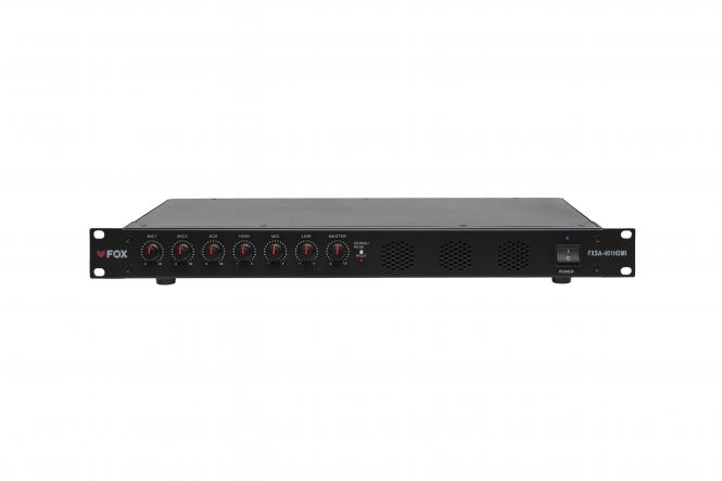 FOX Digitaler Stereo Mischverstärker FXSA-401HDMI