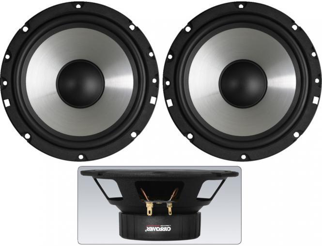 Auto-Lautsprecher-Paar Carpower CRB-165PS