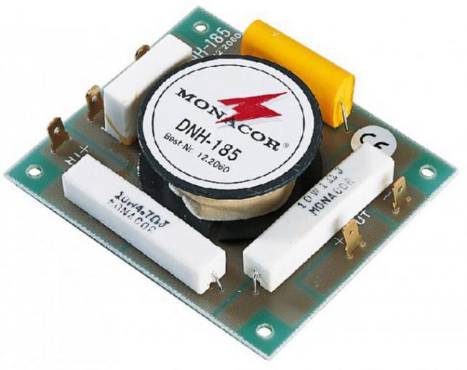 Lautsprecher-Frequenzweiche Monacor DNH-185