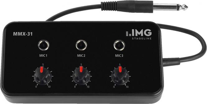 Mikrofon-Mischer IMG Stageline MMX-31