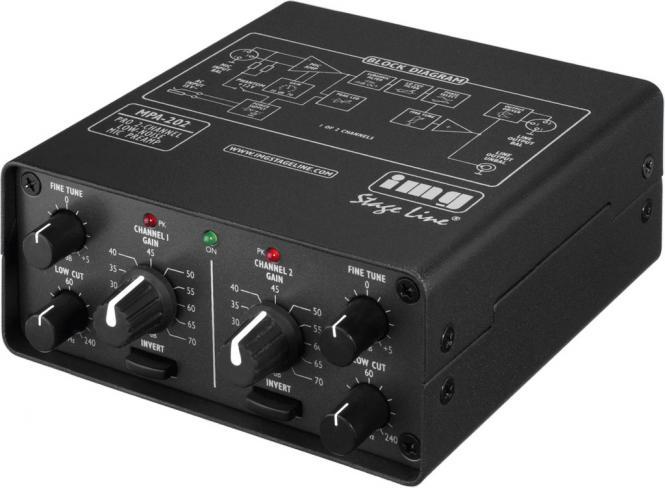 Mikrofonvorverstärker img Stage Line MPA-202