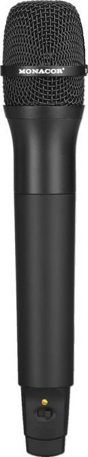 Handmikrofonsender Monacor TXA-100HT