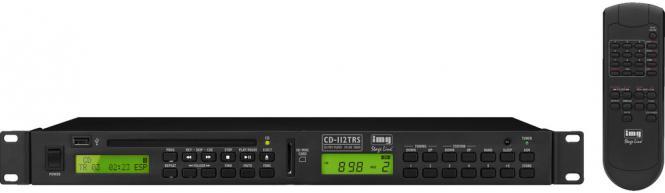 Radio/CD-Spieler Monacor CD-112TRS