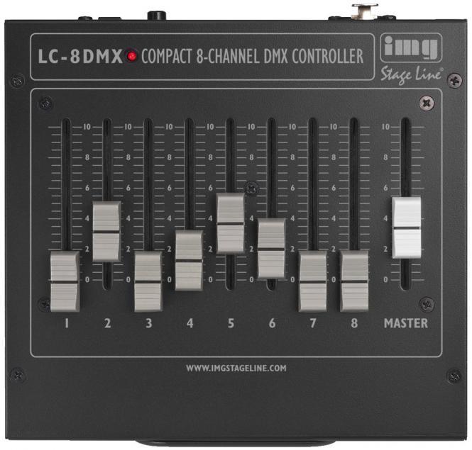 DMX Controller img Stage Line LC-8DMX
