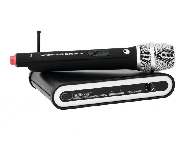 Omnitronic UHF-201 Funkmikrofonsystem