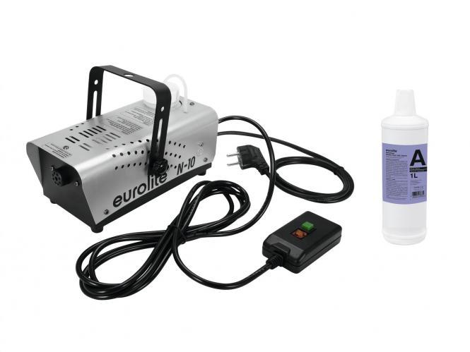 EUROLITE N-10 Nebelmaschine + A2D Action Nebelfluid 1l