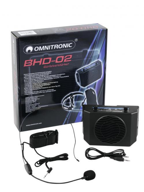 Omnitronic BHD-02 Gürtelverstärker