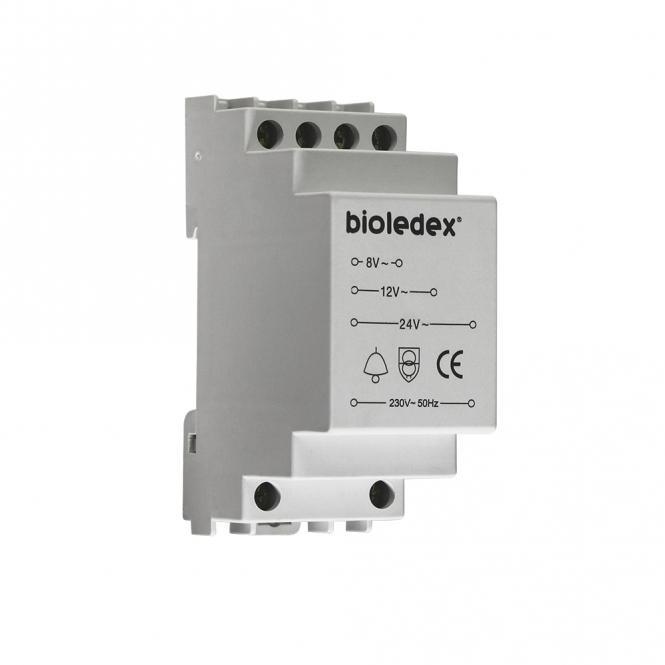 Bioledex Klingeltransformator für Hutschienen 8V 12V 24V 8VA