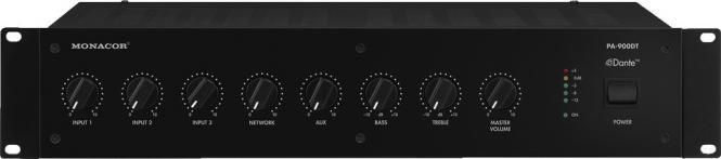 ELA-Verstärker Monacor PA-900DT mit Dante®