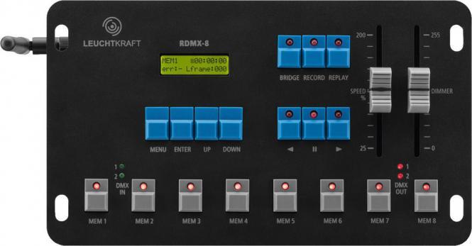 Recorder Leuchtkraft RDMX-8