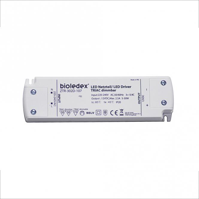 Bioledex 5-30W 12V DC LED Netzteil dimmbar