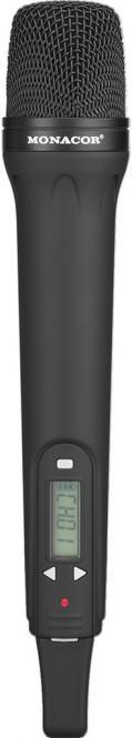 Handmikrofonsender Monacor TXA-800HT