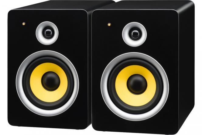 Aktiv-Boxen-Set Monacor SOUND-65/SW