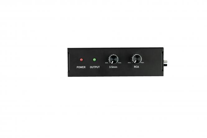 FOX Kompakter Mischverstärker FXSA-041 40 W 4 Ohm 400g leicht energiesparend schwarz