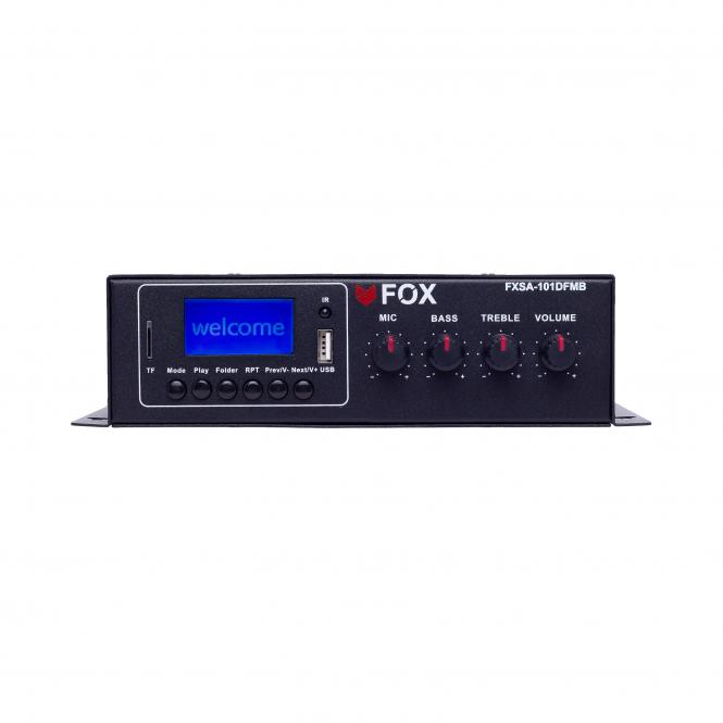 FOX Mini Stereo Verstärker FXSA-101DFMB