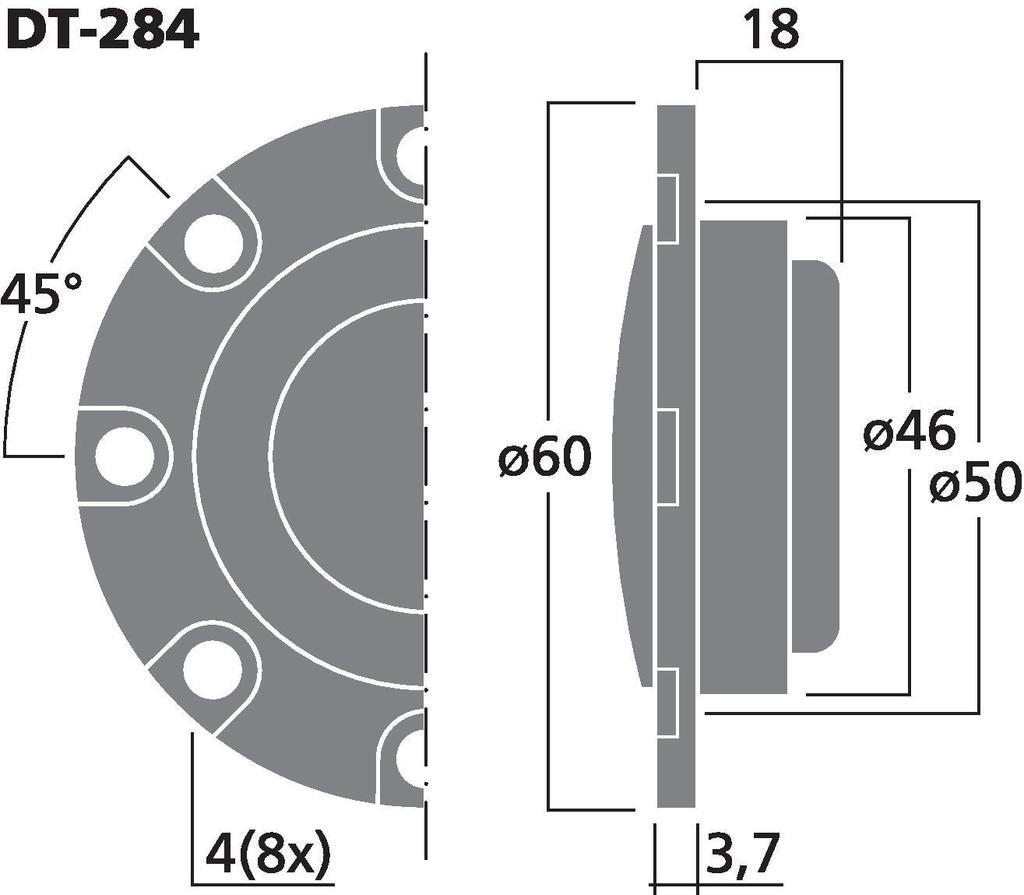 Hochtöner-Paar Carpower DT-284